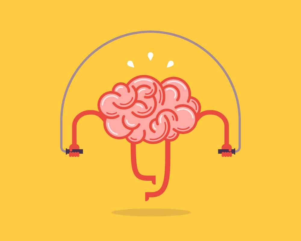 Graphic-illustration-of-a-pink-brain-jumping-rope
